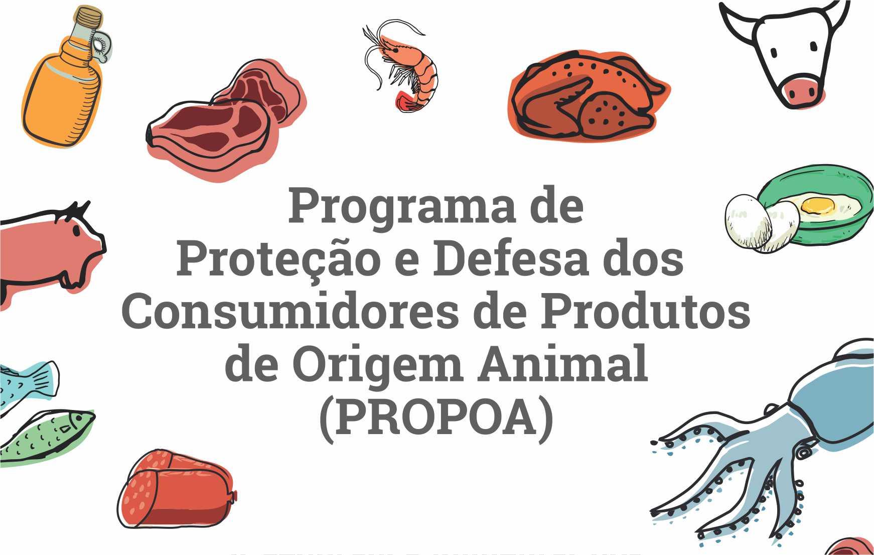 Programa de Proteção e Defesa dos Consumidores de Produtos de Origem Animal (PROPOA) - Aquiraz/CE