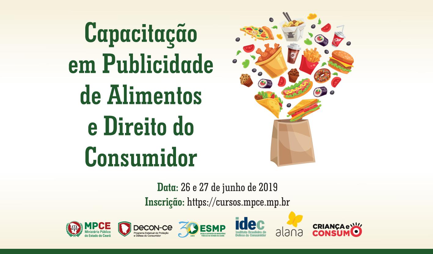 Capacitação em Publicidade de Alimentos e Direito do Consumidor