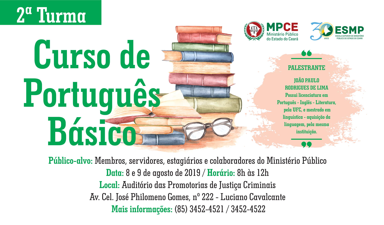 Curso de Português Básico - Turma II