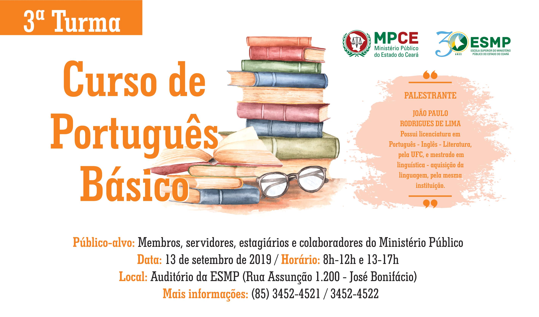 Curso de Português Básico - Turma III
