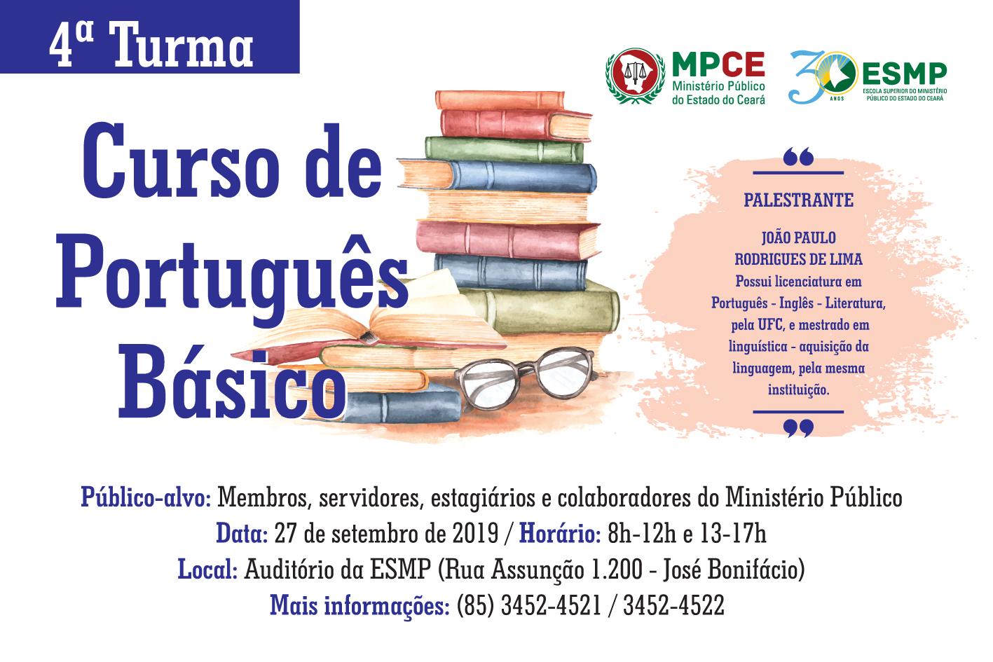 Curso de Português Básico - Turma IV