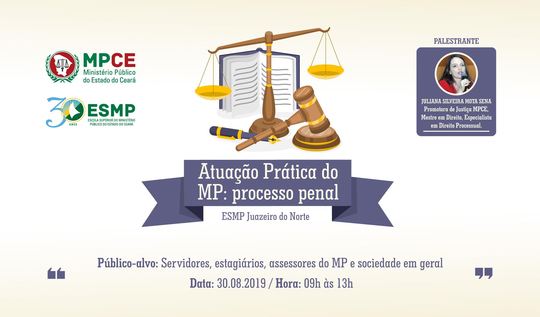 """""""ATUAÇÃO PRÁTICA DO MP: PROCESSO PENAL"""""""