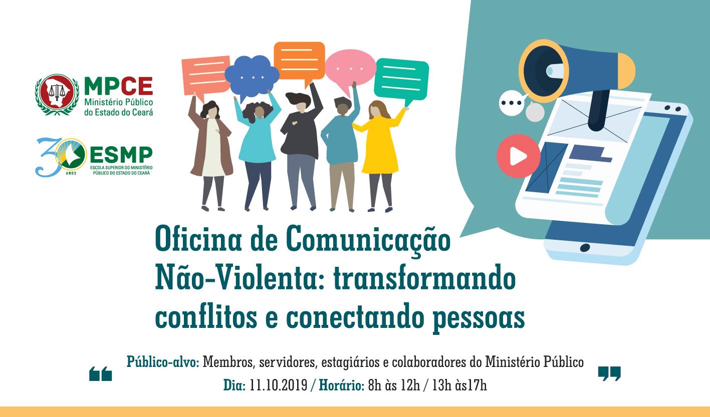 Oficina de Comunicação Não-Violenta: transformando conflitos e conectando pessoas