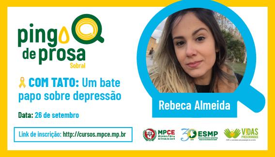 Pingo de Prosa - COM TATO: Um bate papo sobre depressão
