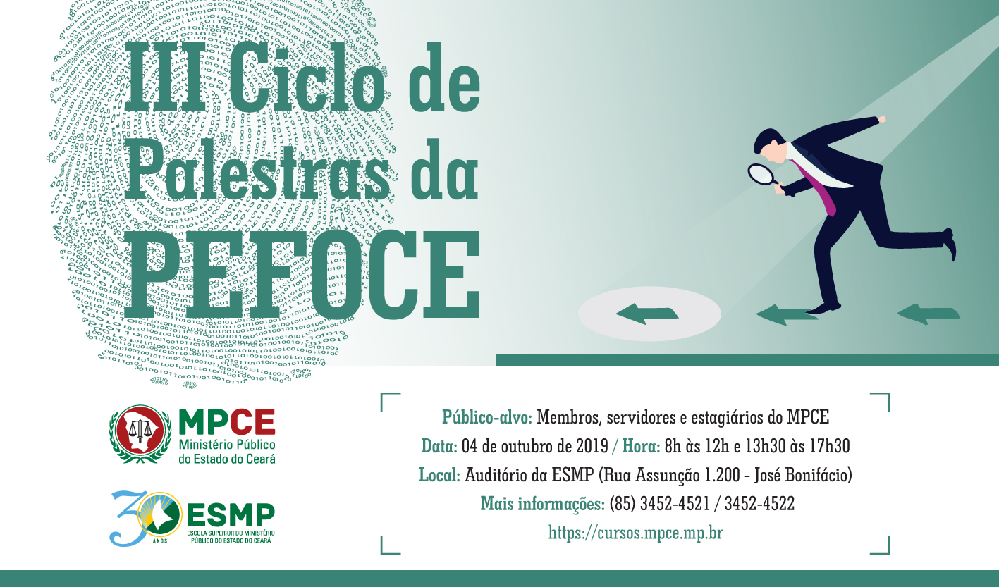 III CICLO DE PALESTRAS DA PEFOCE
