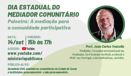 DIA ESTADUAL DO MEDIADOR COMUNITÁRIO