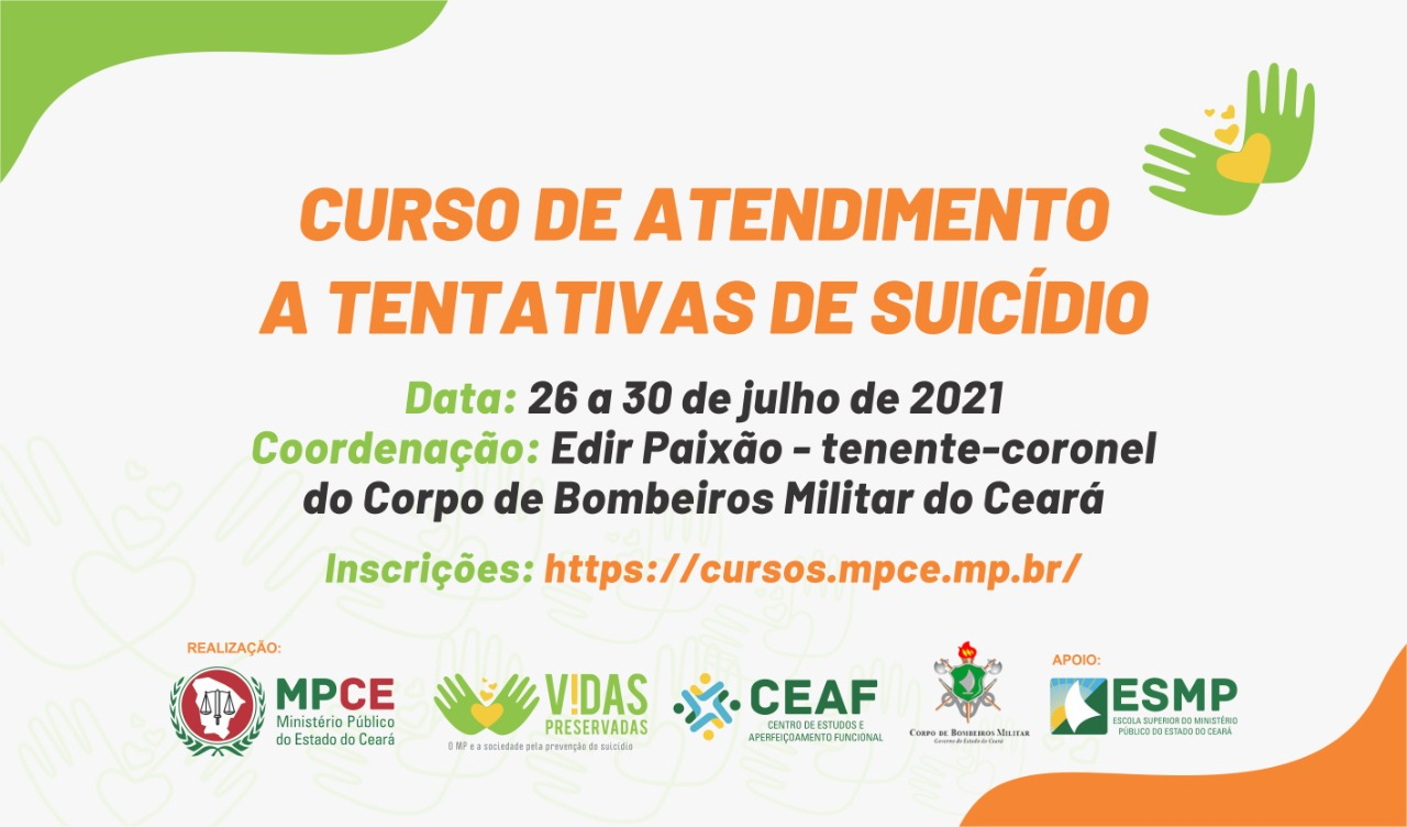 CURSO DE ATENDIMENTO A TENTATIVAS DE SUICÍDIO