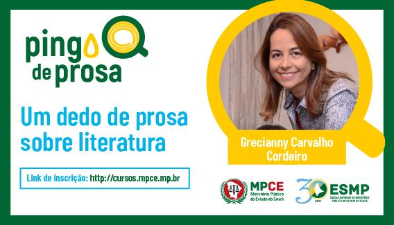PINGO DE PROSA - Um dedo de prosa sobre literatura